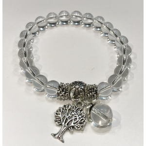 Crystal bracelet with Tree of Life pendant | Nuggets and ball bracelets | 12.9€ | DIARA.SK