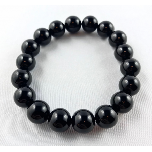 Tourmaline bracelet - black ball | Nuggets and ball bracelets | 22.9€ | DIARA.SK