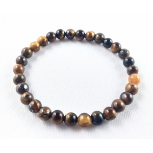 Tiger's eye bracelet - smaller balls | Nuggets and ball bracelets | 9.9€ | DIARA.SK