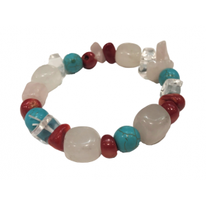 Bracelet - made of a mix of natural stones | Nuggets and ball bracelets | 8.89576€ | DIARA.SK