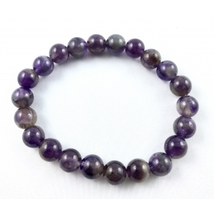 Amethyst bracelet - 8 mm | Nuggets and ball bracelets | 12.9€ | DIARA.SK