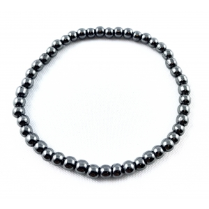 Hematite bracelet - 4 mm | Nuggets and ball bracelets | 3.5€ | DIARA.SK